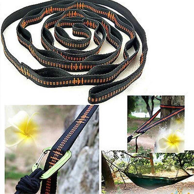 Outdoor Hammock Strap Rope Hanging Belt.