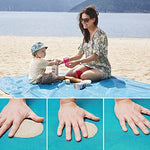 Magic Beach Mat Outdoor Travel Sand Free.