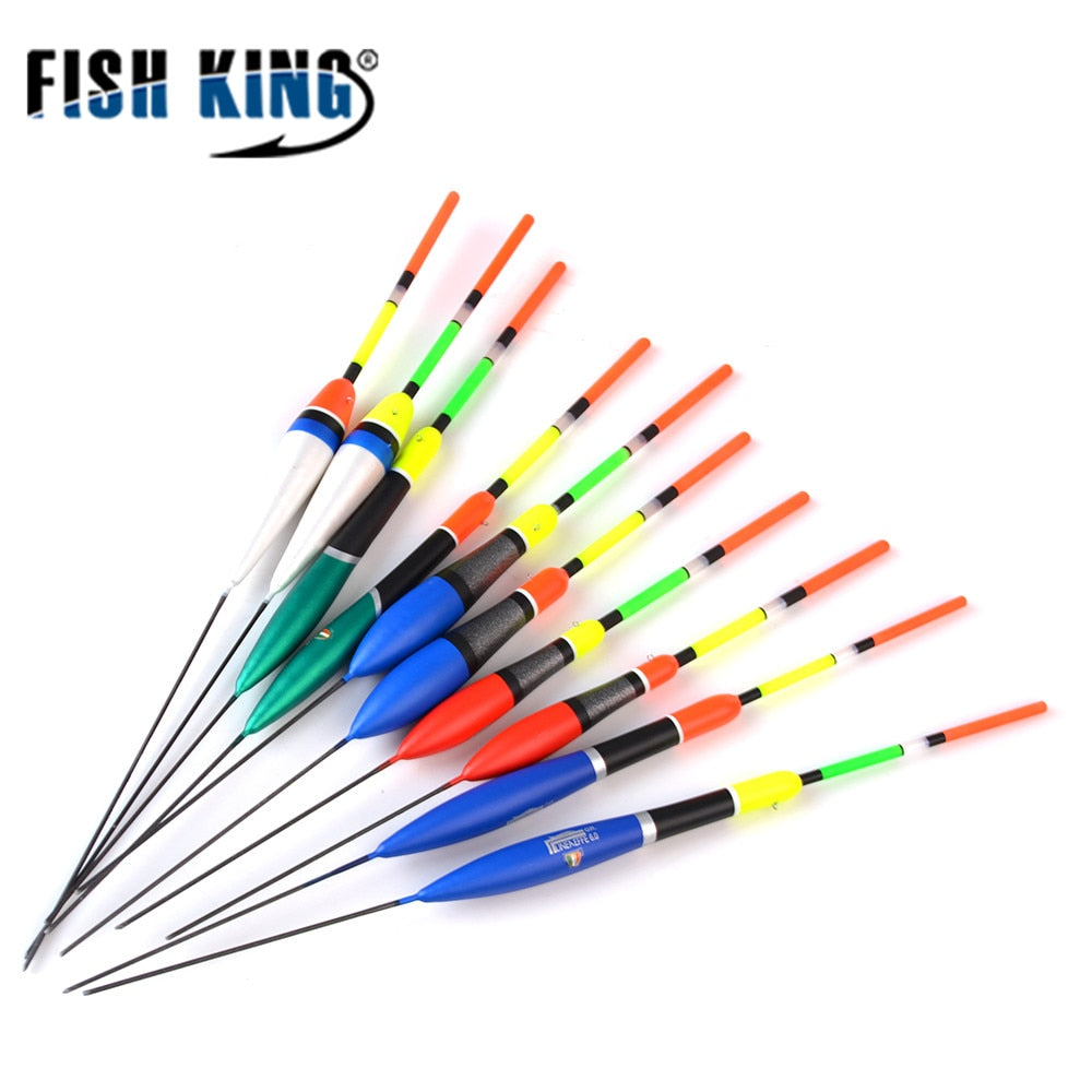 FISHKING 10PCS/Lot Fishing Float