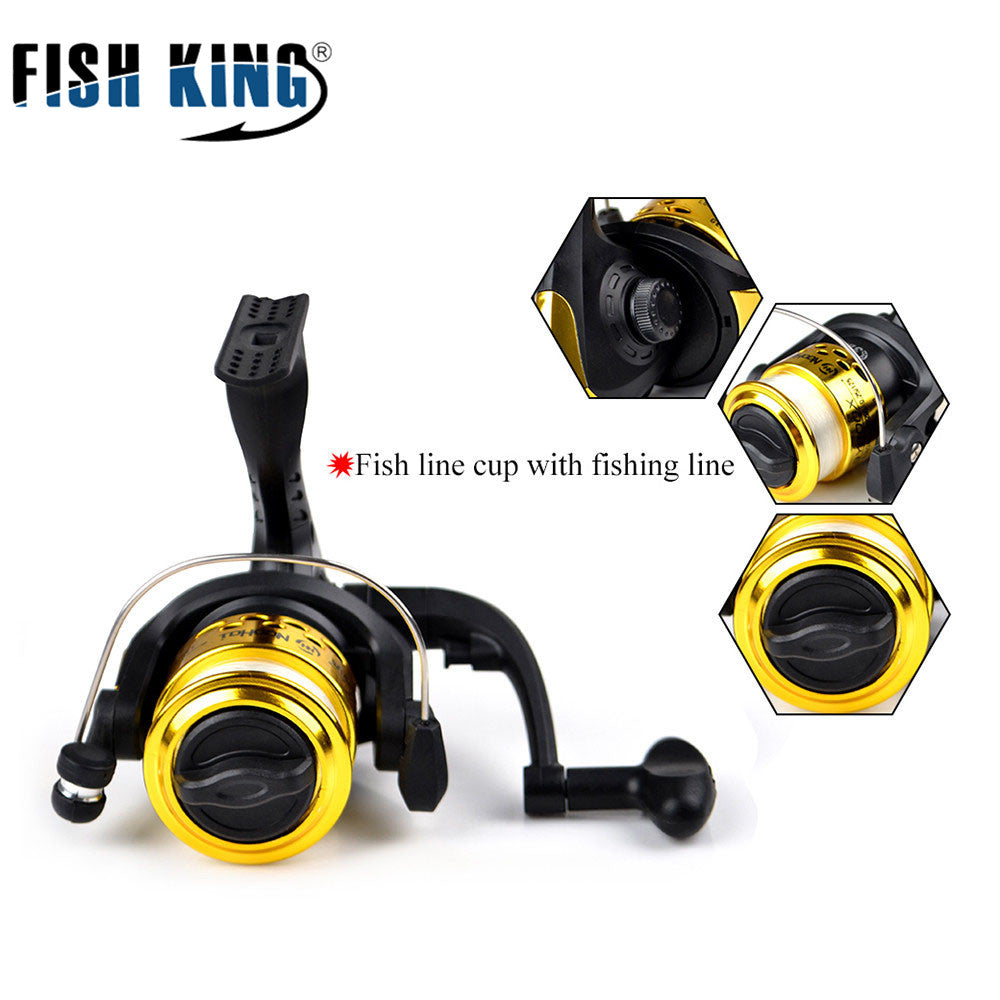 FISHKING Winter Fishing Lure Ice Fishing Rod.