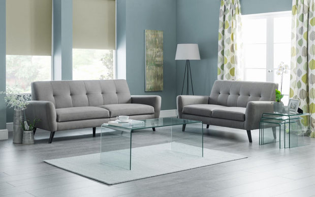 Amalfi Bent Glass Coffee Table