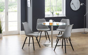 Milan Round Pedestal Table