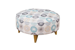 Carnival Footstool Fixed Plain