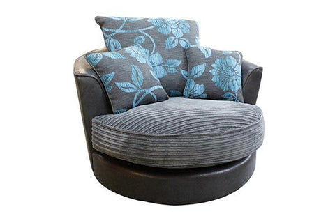 Monique Swivel Chair Plain