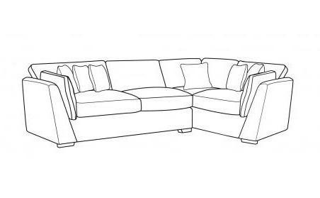 Phoenix Right Hand Facing Sofa Bed Corner Group
