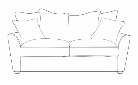 Wilmslow 2 Seater Pillow Back Sofa