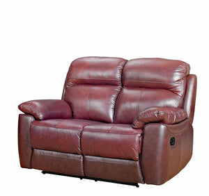 Alton Real Leather 2 Seater Sofa - FREE DELIVERY