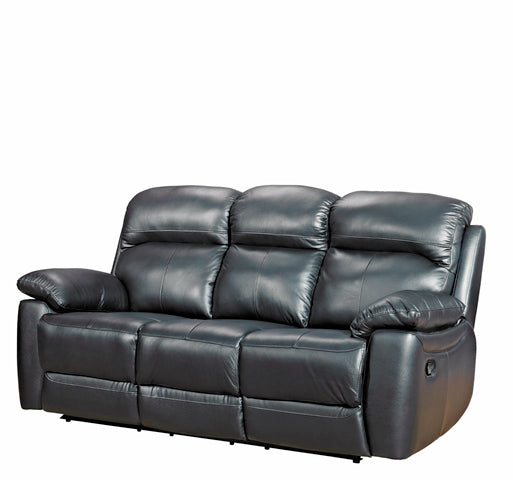 Alton Real Leather 3 Seater Sofa