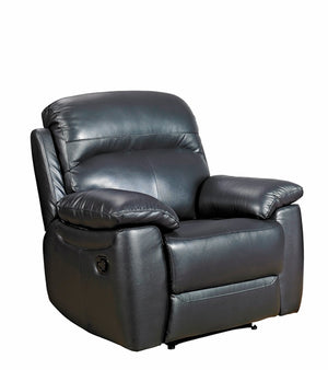 Alton Real Leather Recliner Chair - FREE DELIVERY
