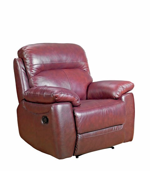 Alton Real Leather Recliner Chair