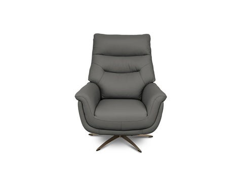 Linea Leather Swivel Chair
