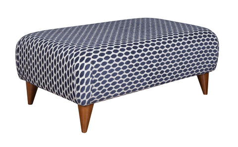 Large Accent Style Footstool