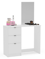 Madison 5 Drawer Dressing Table & Mirror