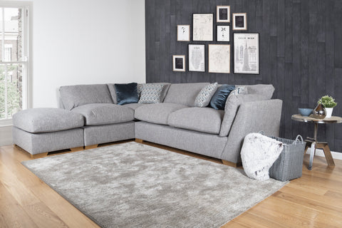 Phoenix Left Hand Facing Sofa Bed Corner Group with Footstool