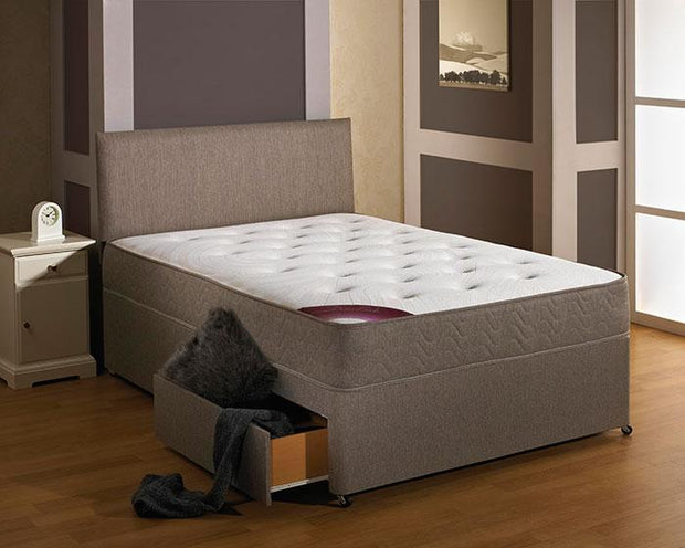 Durabeds Regal End Drawer set Divan Double