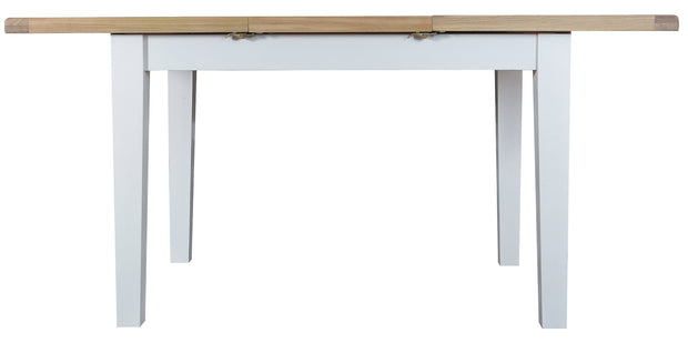 Truro White Extending Butterfly Dining Table - Various Sizes