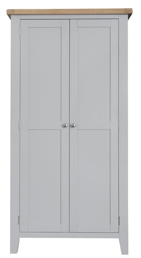 Truro Grey Full Hanging Wardrobe