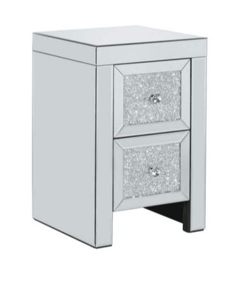 Vienna 2 Drawer Bedside Table