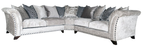 Vesper 2 by 2 Seater Pillow Back Corner Group