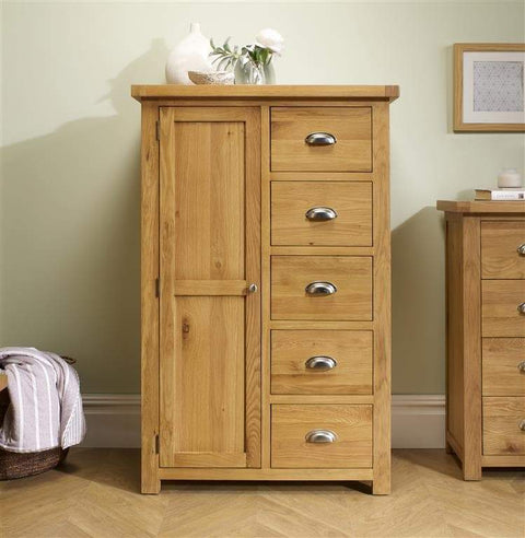 Woburn 1 Door 5 Drawer Wardrobe