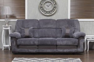 Hanna 3 seater Recliner Grey Combo