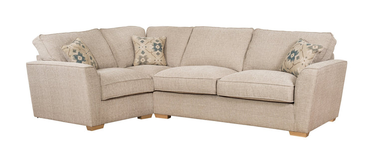 Fantasia 2 by 1 Seater Left Hand Facing Standard Back Sofa Bed Corner Group