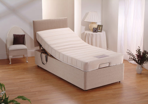 Easy Living Electric Adjustable Bed with Mattress