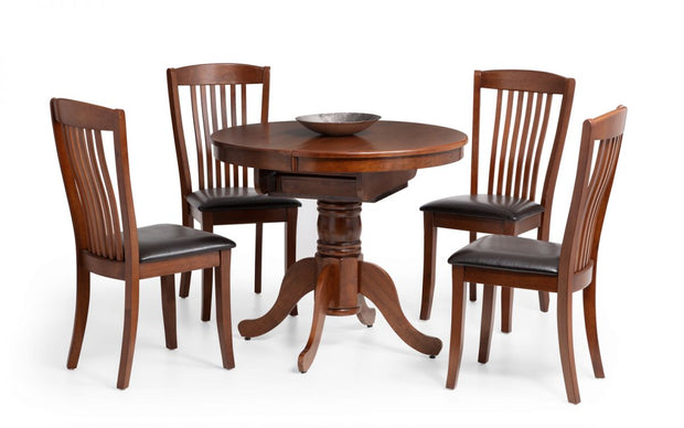 Canterbury Round to Oval Extending Table