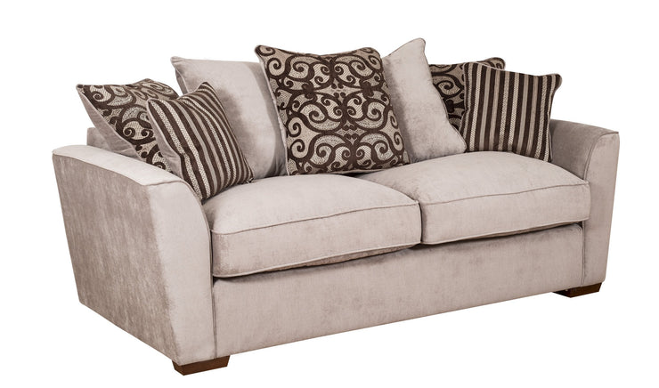 Fantasia Pillow Back 3 Seater Sofa