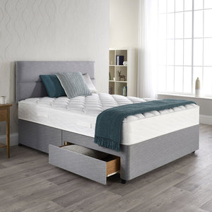 Pocket Therapy Mattress, Headboard and 2 Drawer Base