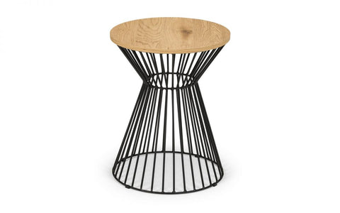 Jersey Round Wire Lamp Table - Various Colours