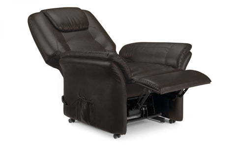 Riva Faux Leather Rise & Recline Chair
