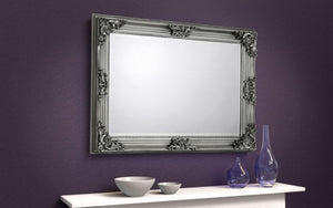 Roco Pewter Wall Mirror MIR012