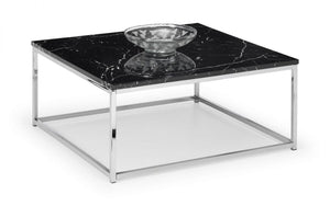 Sala Marble & Chrome Effect Coffee Table