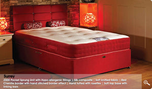 The Suree 2000 Pocket Sprung Mattress