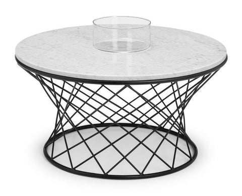 Trevi Real Marble Coffee Table