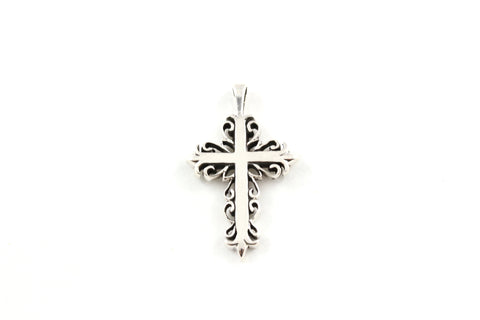 Latin Cross ~ 925 Sterling Silver Pendant