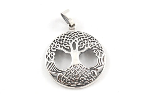 Celtic Tree of Life ~ 925 Sterling Silver Pendant