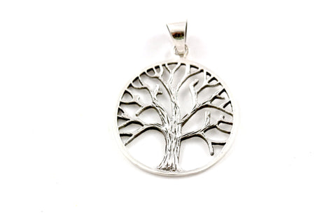 Classic Tree of Life ~ 925 Sterling Silver Pendant