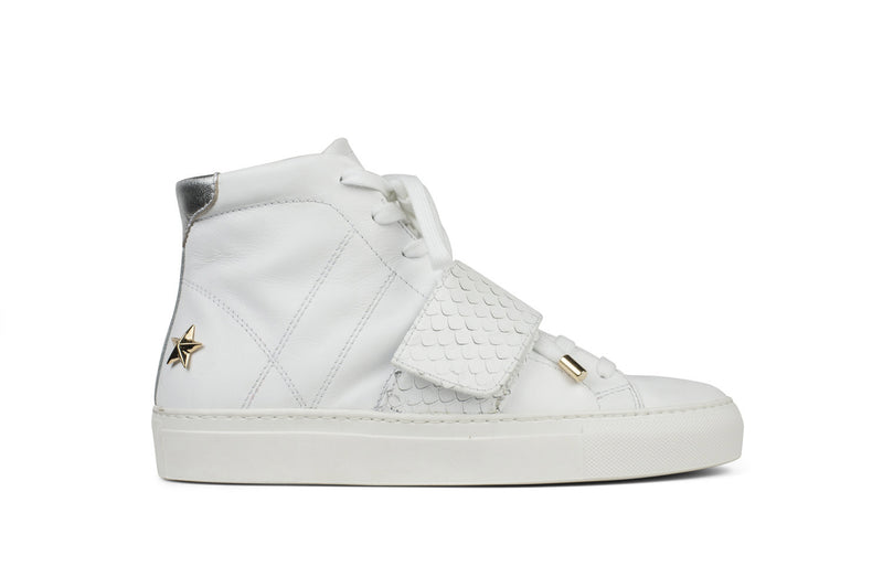 Hip Star (White - High Cut)