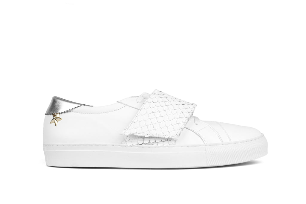 Hip Star Low Cut - White
