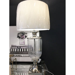 Clear Table Lamp