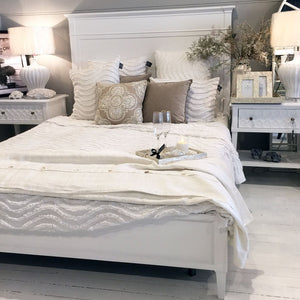 Hamptons Queen Bed Frame