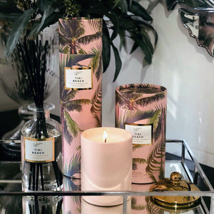 Sohum Tiki Beach Candle and Diffuser