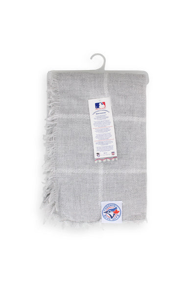 MLB Blue Jays Grey Blanket Scarf