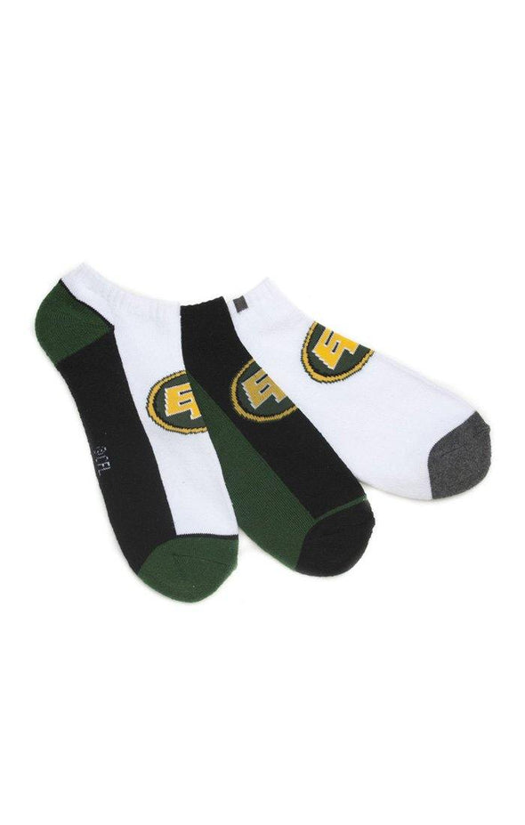 CFL EE Mens 3 Pack Terry Ankle Socks