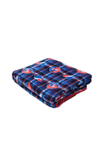 MLB Expos Navy Travel Blanket