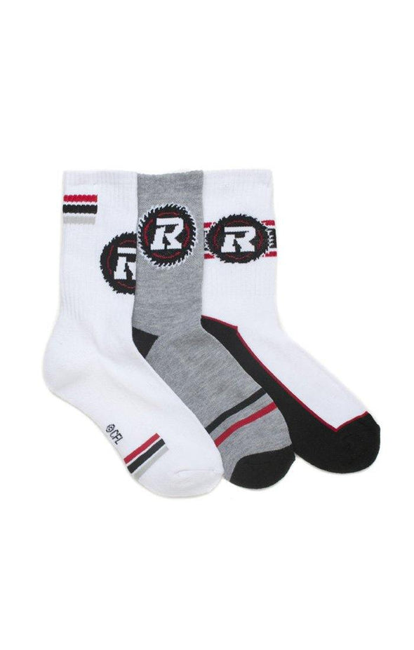 CFL ORB Youth 3 Pack Crew Socks
