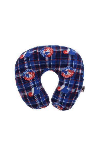 MLB Expos Navy Travel Pillow