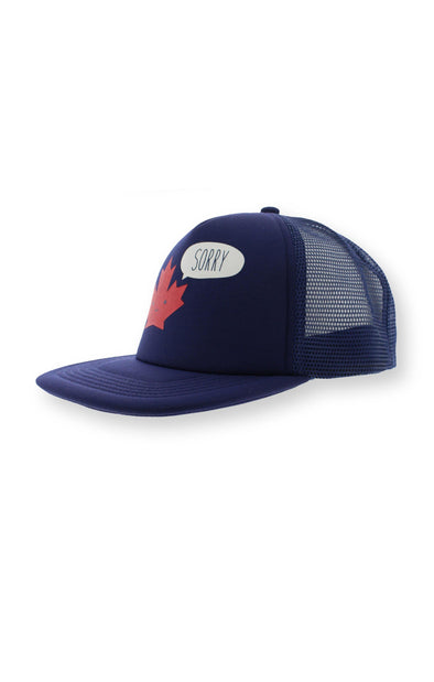 "Canada ""Sorry"" Kids Mesh Back Cap - BUWU"